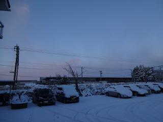 2014年12月14日 雪の朝1