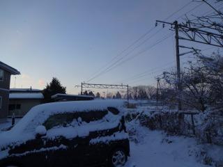 2014年12月14日 雪の朝2
