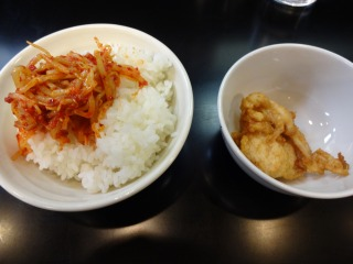 2014年12月17日 大連の龍・ご飯