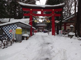 2014年12月21日 伊佐須美神社1