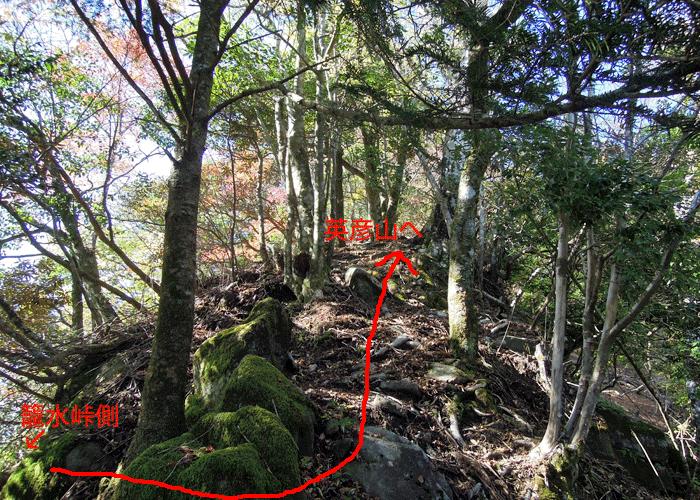 2015,11,3峰入り古道-33