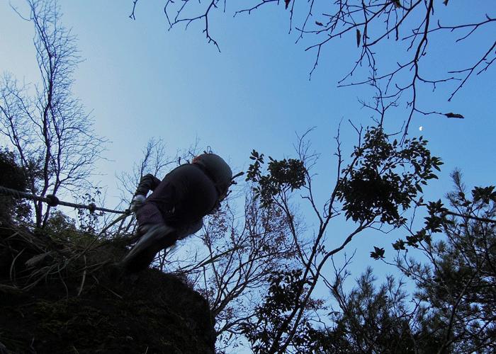 2015,11,3峰入り古道-5