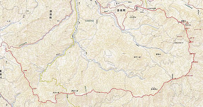 峰入り古道