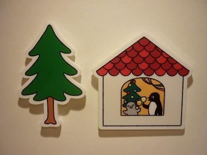 クリスマスの家
