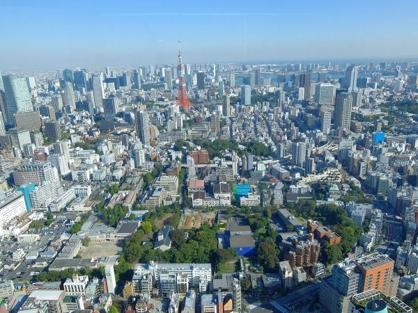 森タワー展望台から見た風景5