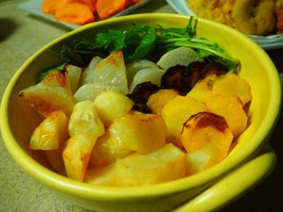 カラフル人参の焼きサラダ