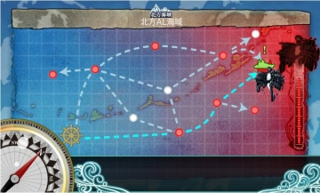 2015-1102 北方海域戦闘哨戒ルート