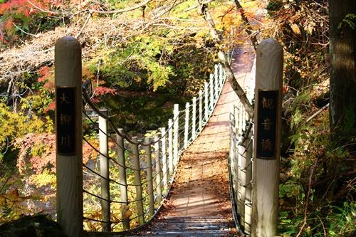 吊り橋コースへ28