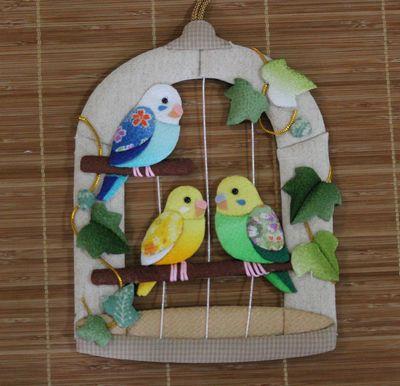 木目込み鳥