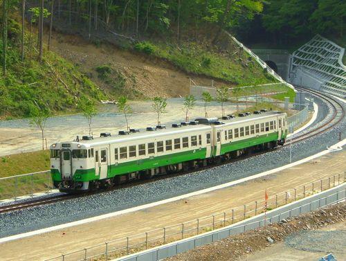 女川駅1石巻線キハ48