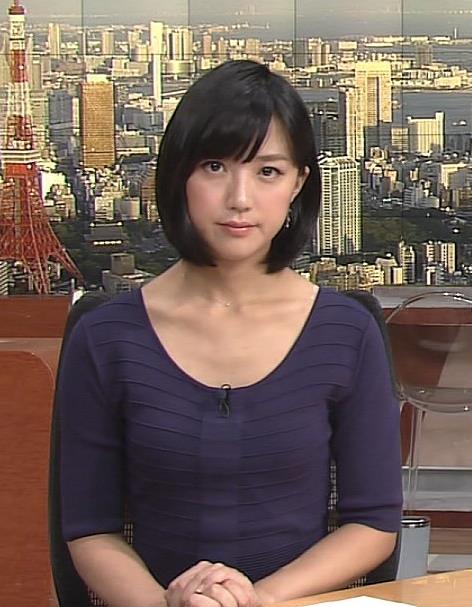 竹内由恵 胸元画像3