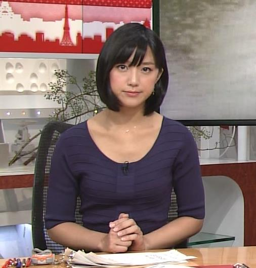 竹内由恵 胸元画像4