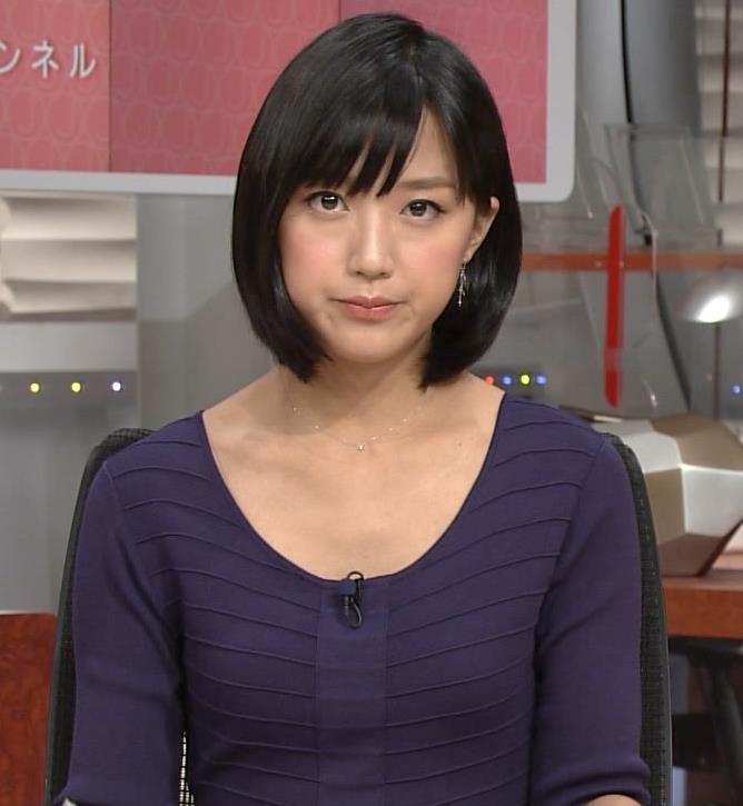 竹内由恵 胸元画像5