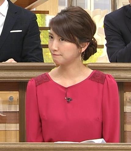 三田友梨佳 横乳画像5