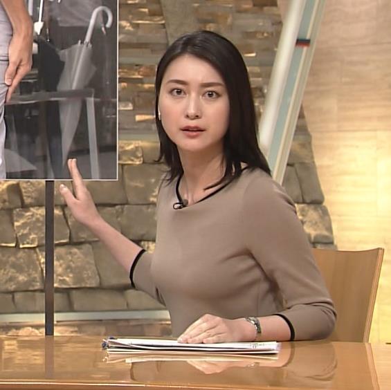 小川彩佳 おっぱい画像7