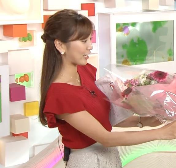 小澤陽子 横乳画像