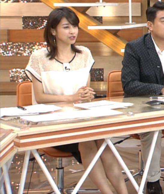 加藤綾子 太もも画像7