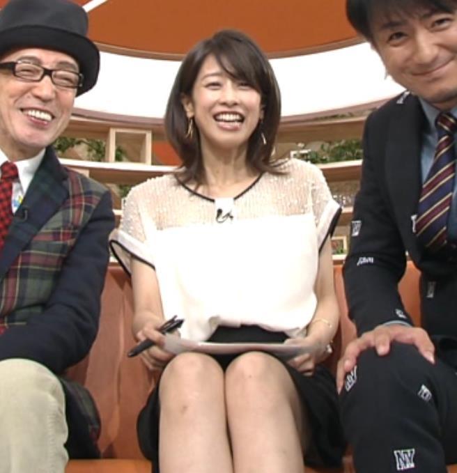 加藤綾子 太もも画像12
