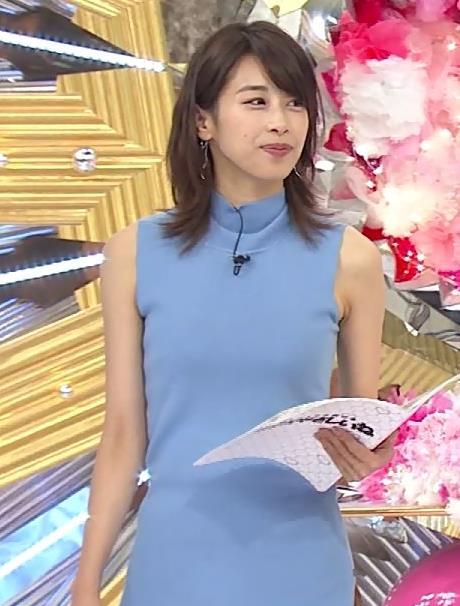 加藤綾子 ワンピース画像2