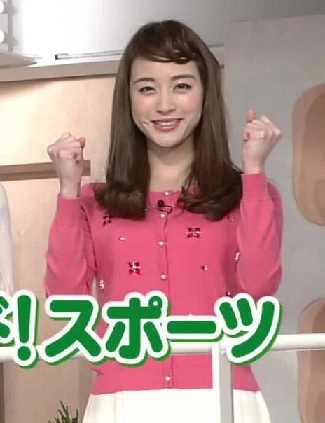 新井恵理那 おっぱい画像2