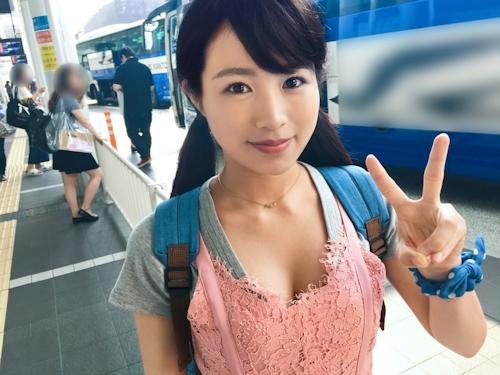 かりん 19歳 大学生 「バスターミナルナンパ 06 in 新宿 チームH」