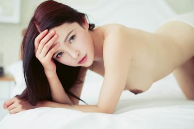中国美女モデル 樱桃(Yingtao) セクシーヌード画像 14