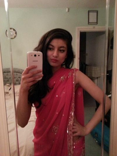 インドの素人美女の自分撮りヌード流出画像 1