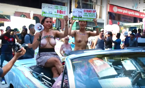 GOTOPLESS DAY 2016 PARADE 1