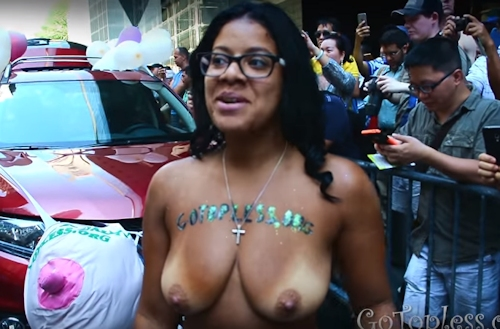 GOTOPLESS DAY 2016 PARADE 2
