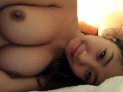 マレーシア巨乳美女 自分撮りヌード画像 5
