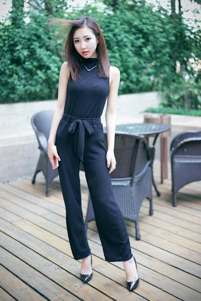 中国美女モデル・尤美Yumi セミヌード画像 2