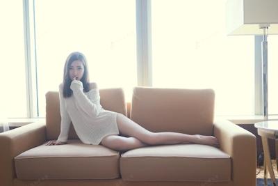 中国美女モデル・尤美Yumi セミヌード画像 4