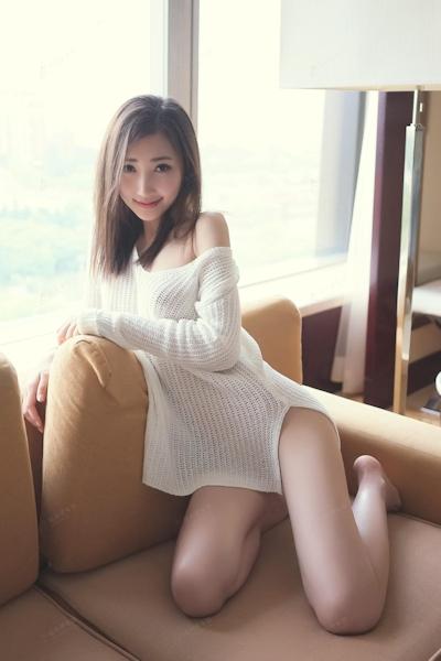 中国美女モデル・尤美Yumi セミヌード画像 5