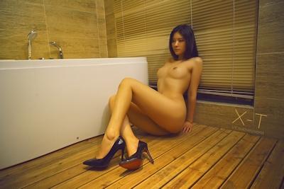 中国美女モデルのヌード画像 8