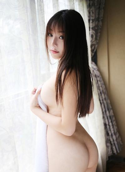 中国美女モデル 芝芝Booty セミヌード画像 15