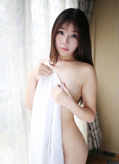 中国美女モデル 芝芝Booty セミヌード画像 16