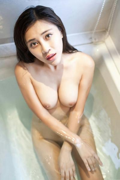 中国巨乳美女モデル 舒欣宝儿(Shuxinbaoer) 入浴ヌード画像 5