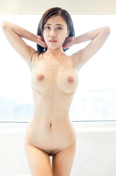 中国巨乳美女モデル 舒欣宝儿(Shuxinbaoer) 入浴ヌード画像 7