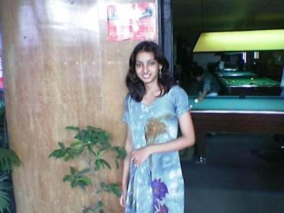 インドの美人女子大生の流出ヌード画像 4