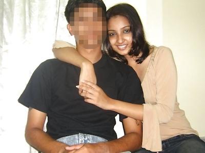 インドの美人女子大生の流出ヌード画像 6