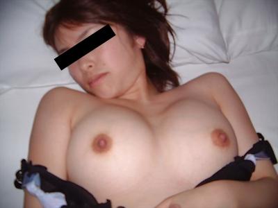 美乳な美人女子大生の流出ヌード画像 4