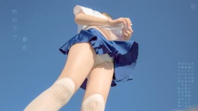 JK制服を着た美少女のセクシー画像 20