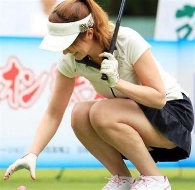 女子ゴルフ選手 セクシーショット 15