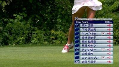 女子ゴルフ選手 セクシーショット 19
