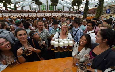 ドイツでビールの祭典 「Oktoberfest(オクトーバーフェスト) 2016」 開幕 6