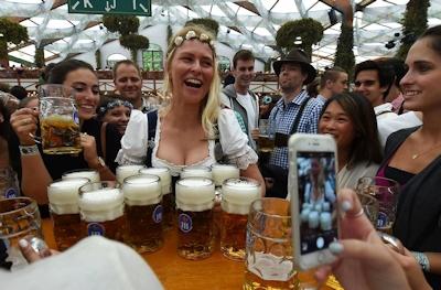 ドイツでビールの祭典 「Oktoberfest(オクトーバーフェスト) 2016」 開幕 7