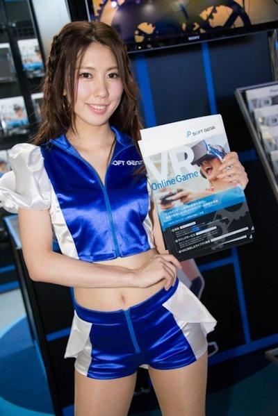 東京ゲームショウ2016 セクシーコンパニオン画像 6