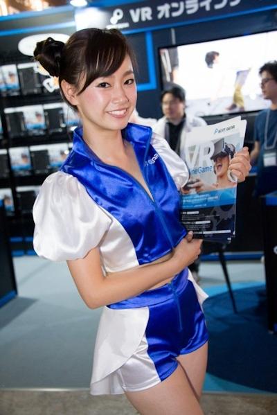 東京ゲームショウ2016 セクシーコンパニオン画像 8