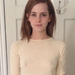 Emma Watson(エマ・ワトソン)のノーブラ透け乳首画像?