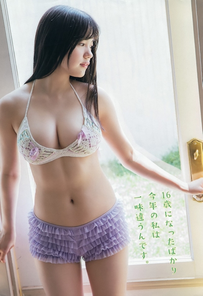 HKT48 田中優香 セクシービキニ画像 12